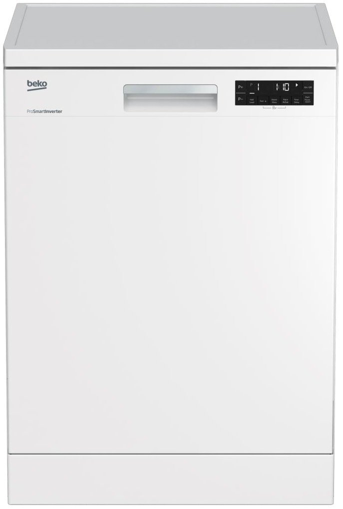 Beko DFN38450W Freestanding Dishwasher