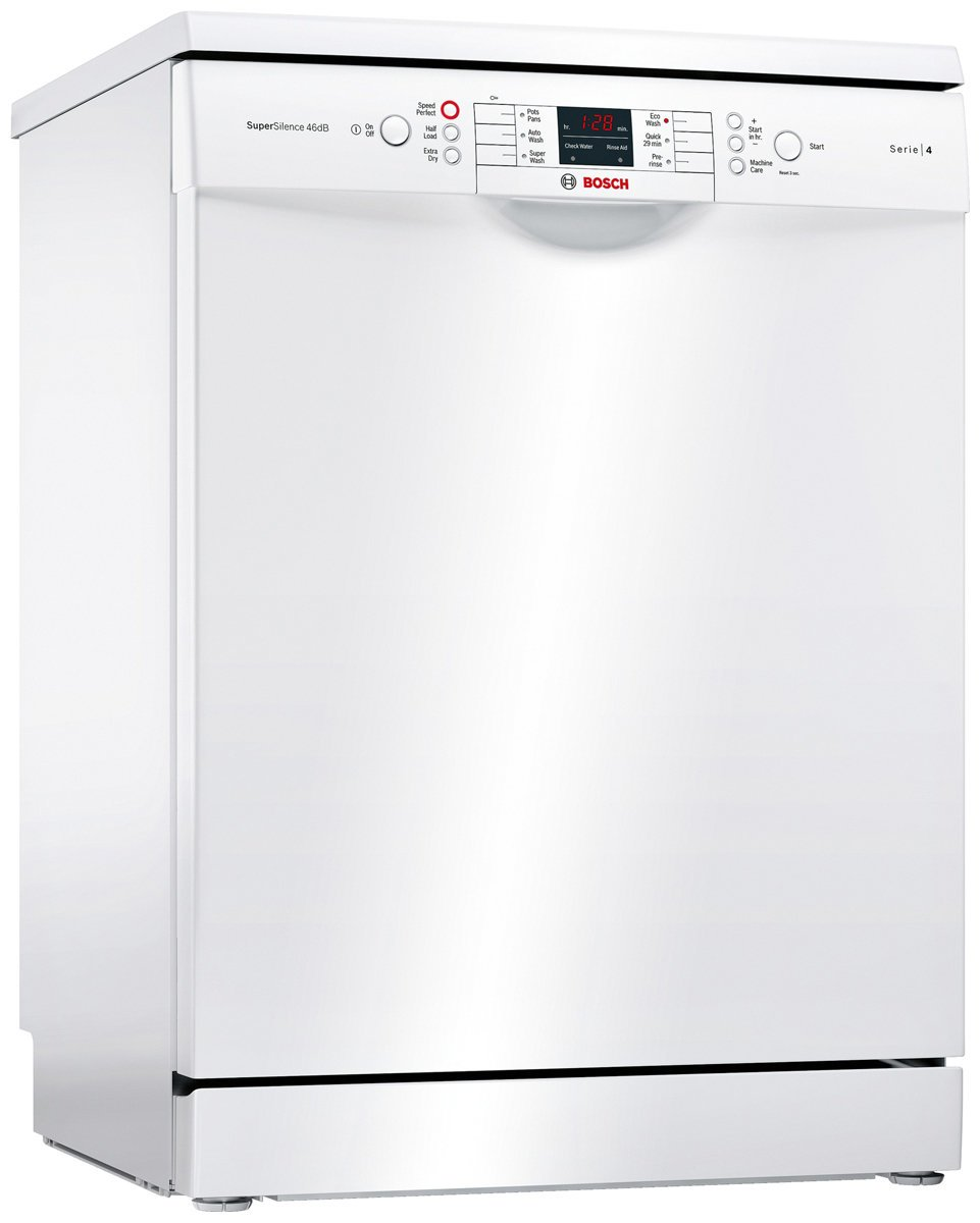 bosch sms46gw01a serie 4 freestanding dishwasher up to. Black Bedroom Furniture Sets. Home Design Ideas