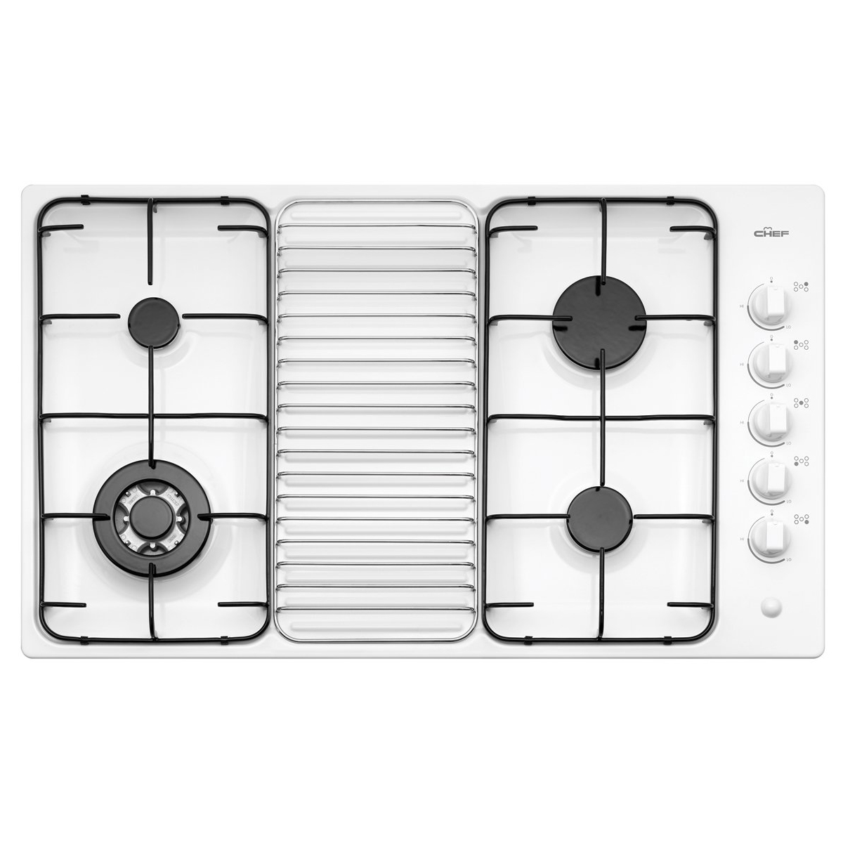 Chef GHS917W Gas Cooktop