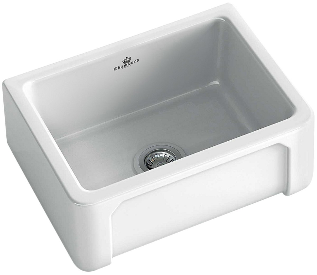 Abey HENRI-1W Chambord Henri Single Bowl Ceramic Sink 128874