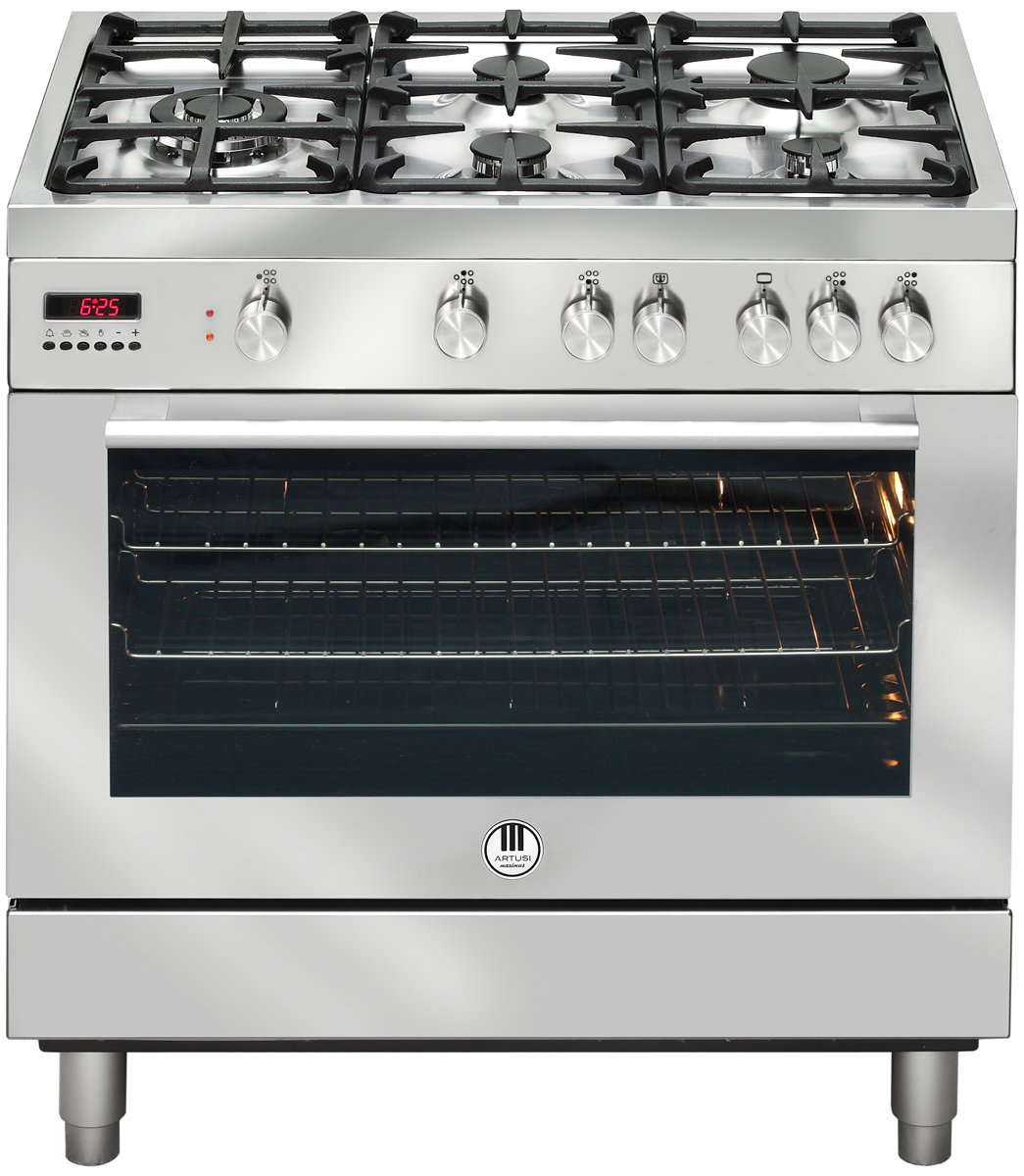 Artusi AFG900X Freestanding Dual Fuel Oven/Stove 124419