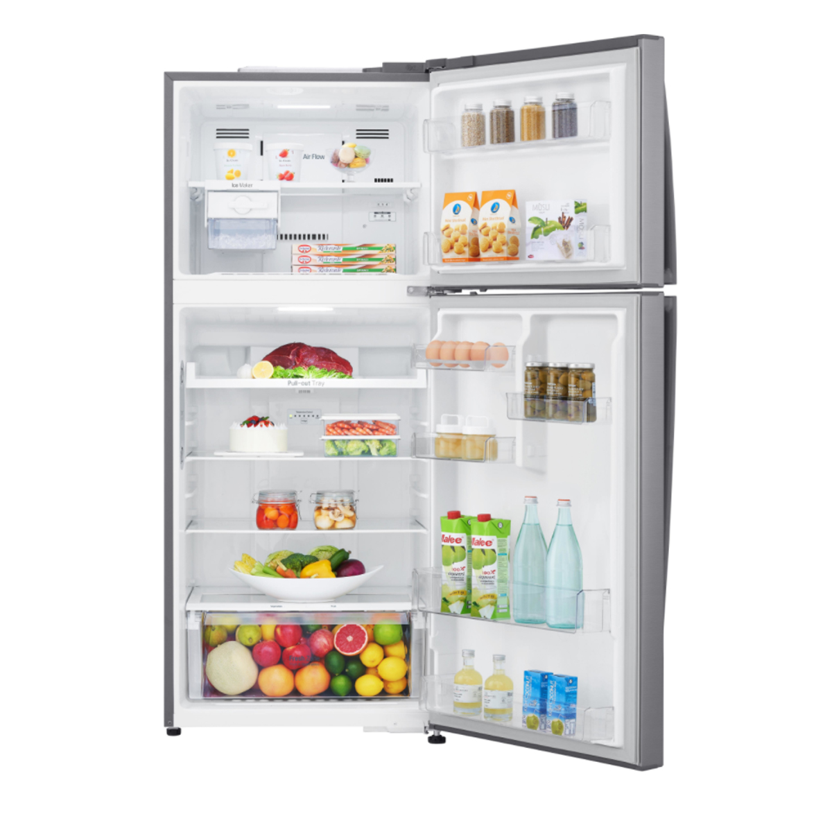 LG GT-442SDC 441Litres Top Mount Fridge with Door Cooling 116807