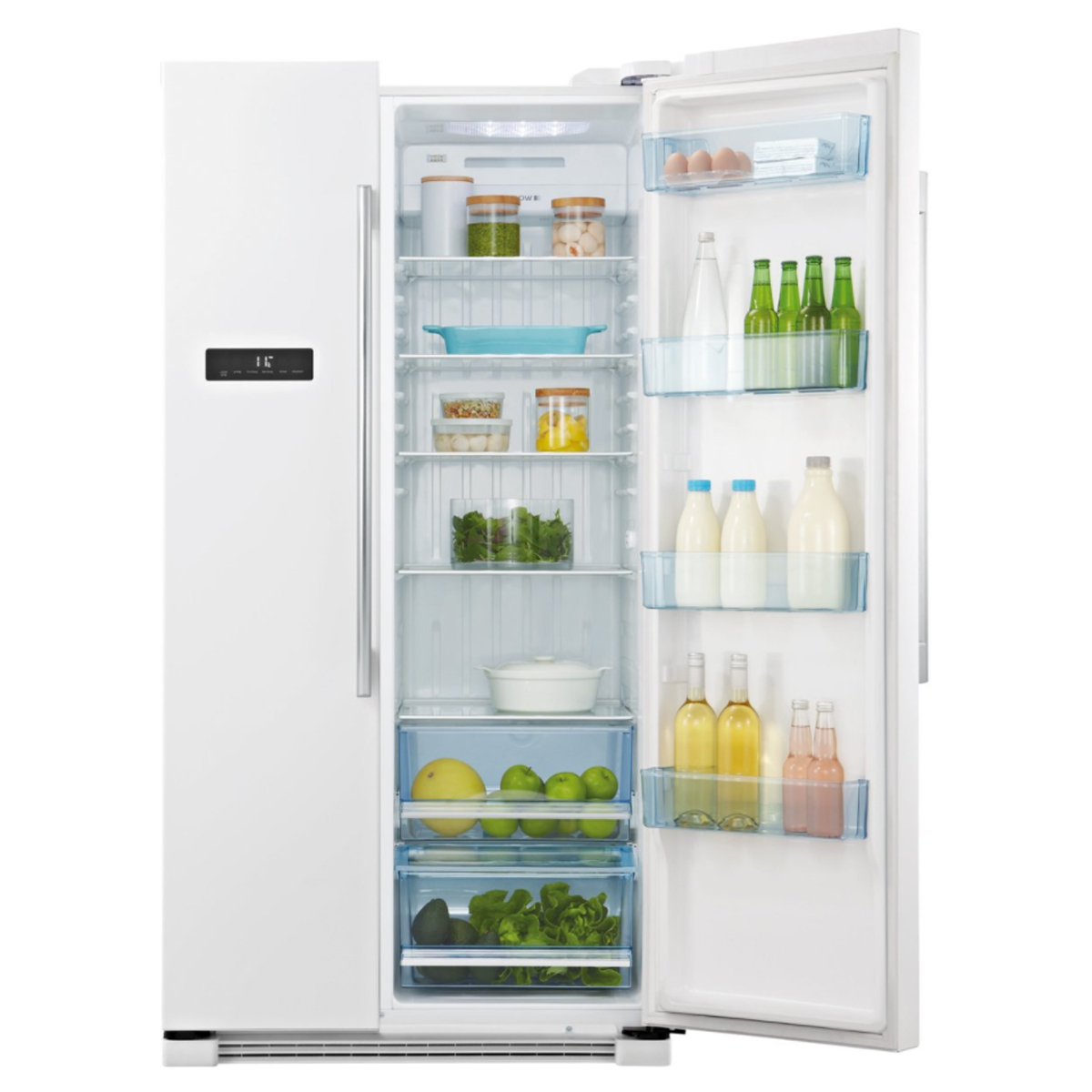 Haier HSBS628AW 629L Side By Side Refrigerator 124150