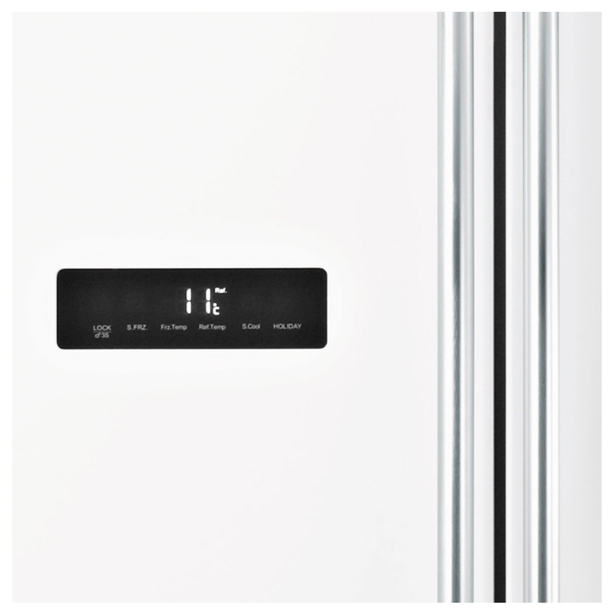 Haier HSBS628AW 629L Side By Side Refrigerator 124157