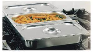 Ilve G00201 Bain-Marie 3 Stainless Steel Basins 125208