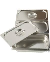 Ilve G00201 Bain-Marie 3 Stainless Steel Basins