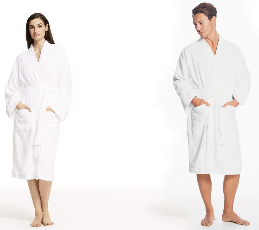 Sheridan SF12A8001 Quick Dry Luxury Towelling Robe L/XL White 145099