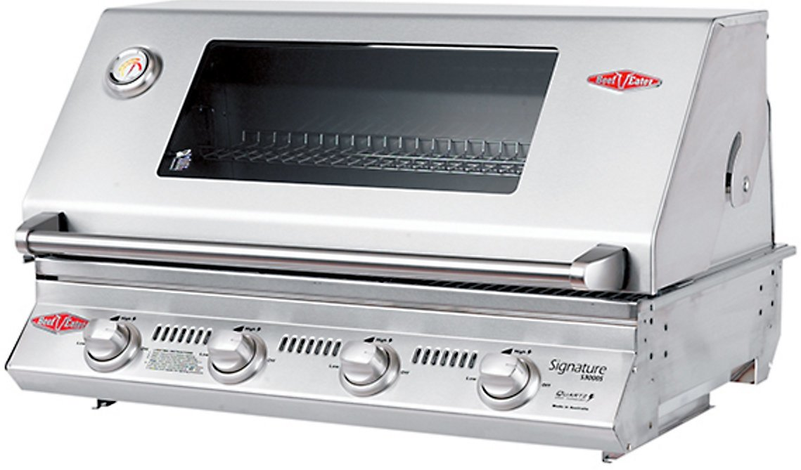 Beefeater BS12340 Signature 3000S 4 Burner Built-In LPG BBQ 143228