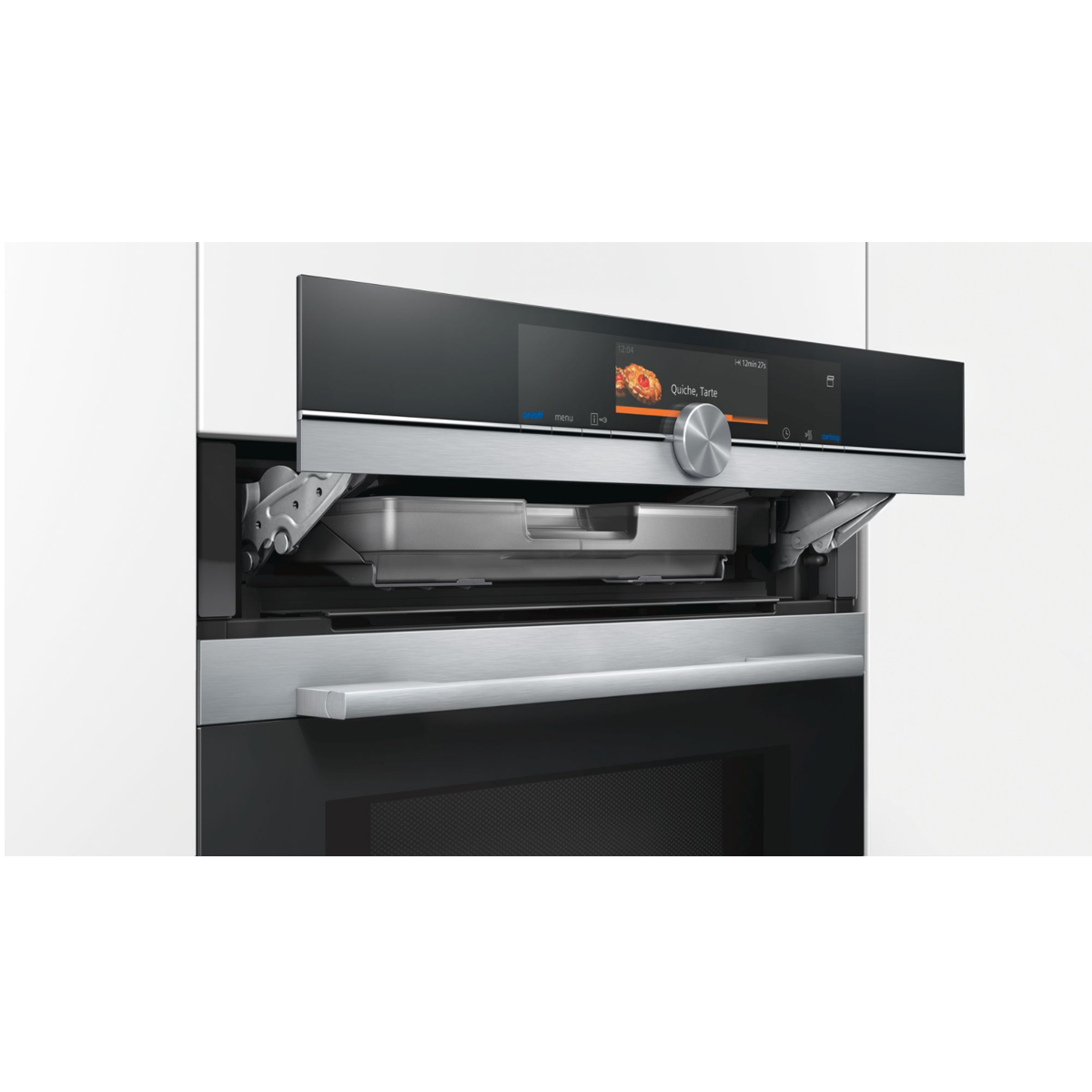 Siemens iQ700  CN678G4S1B Compact Oven With Microwave and PulseSteam 140349