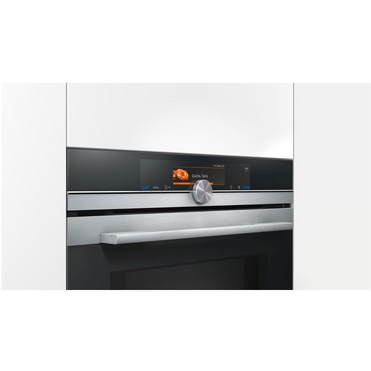 Siemens iQ700  CN678G4S1B Compact Oven With Microwave and PulseSteam 140350
