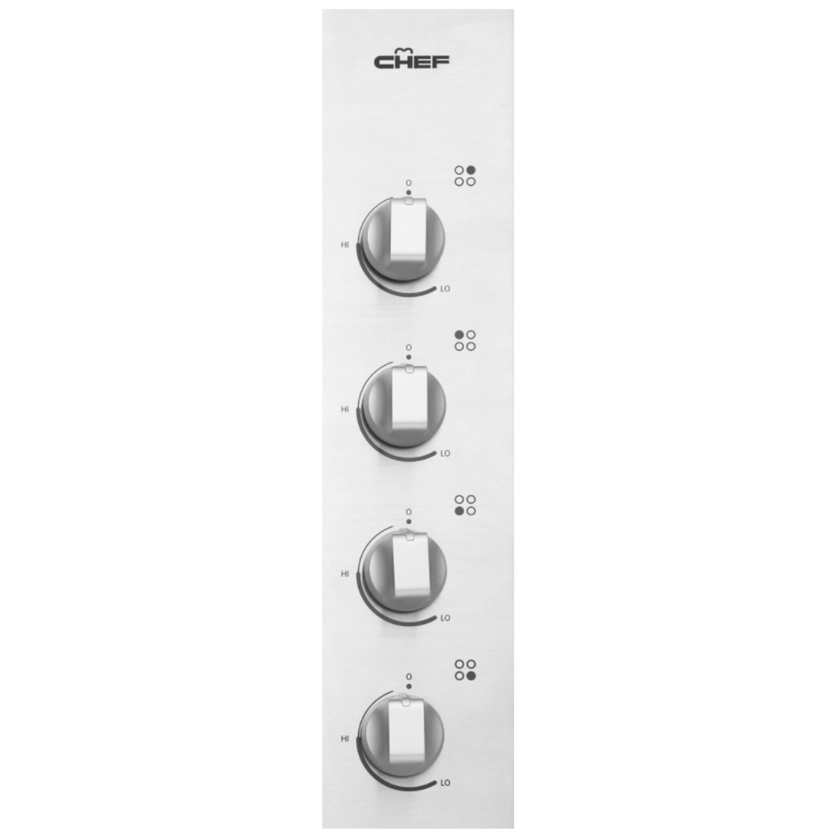 Chef GHC617S Gas Cooktop 145601