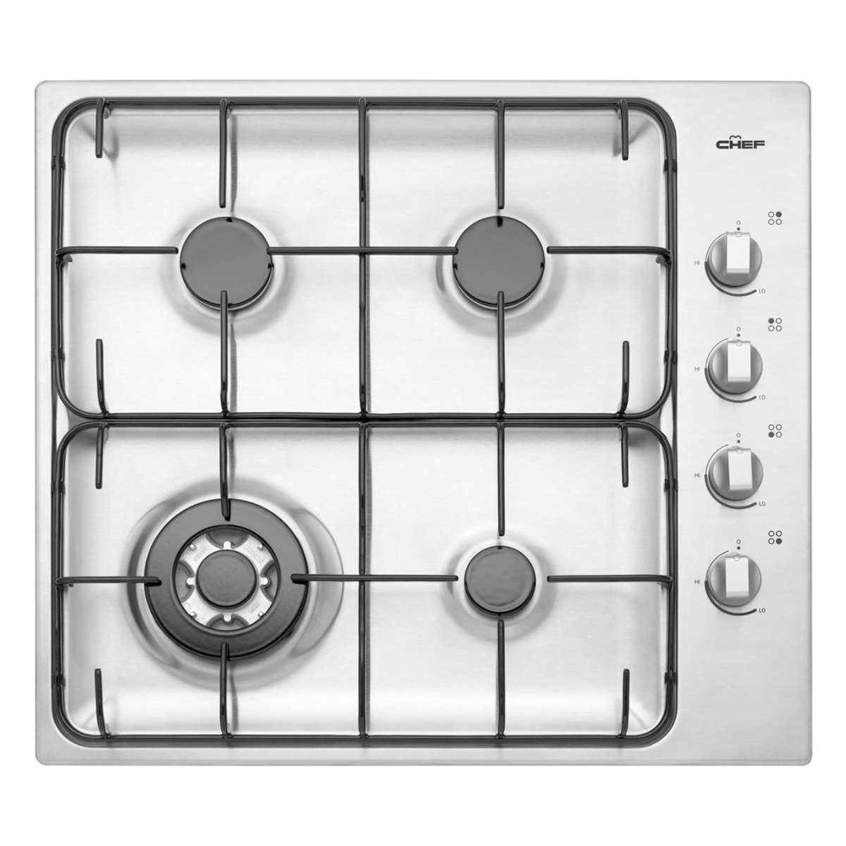 Chef GHC617S Gas Cooktop 145598