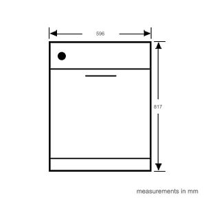 Gorenje GV61124AU Fully Integrated Dishwasher 187728