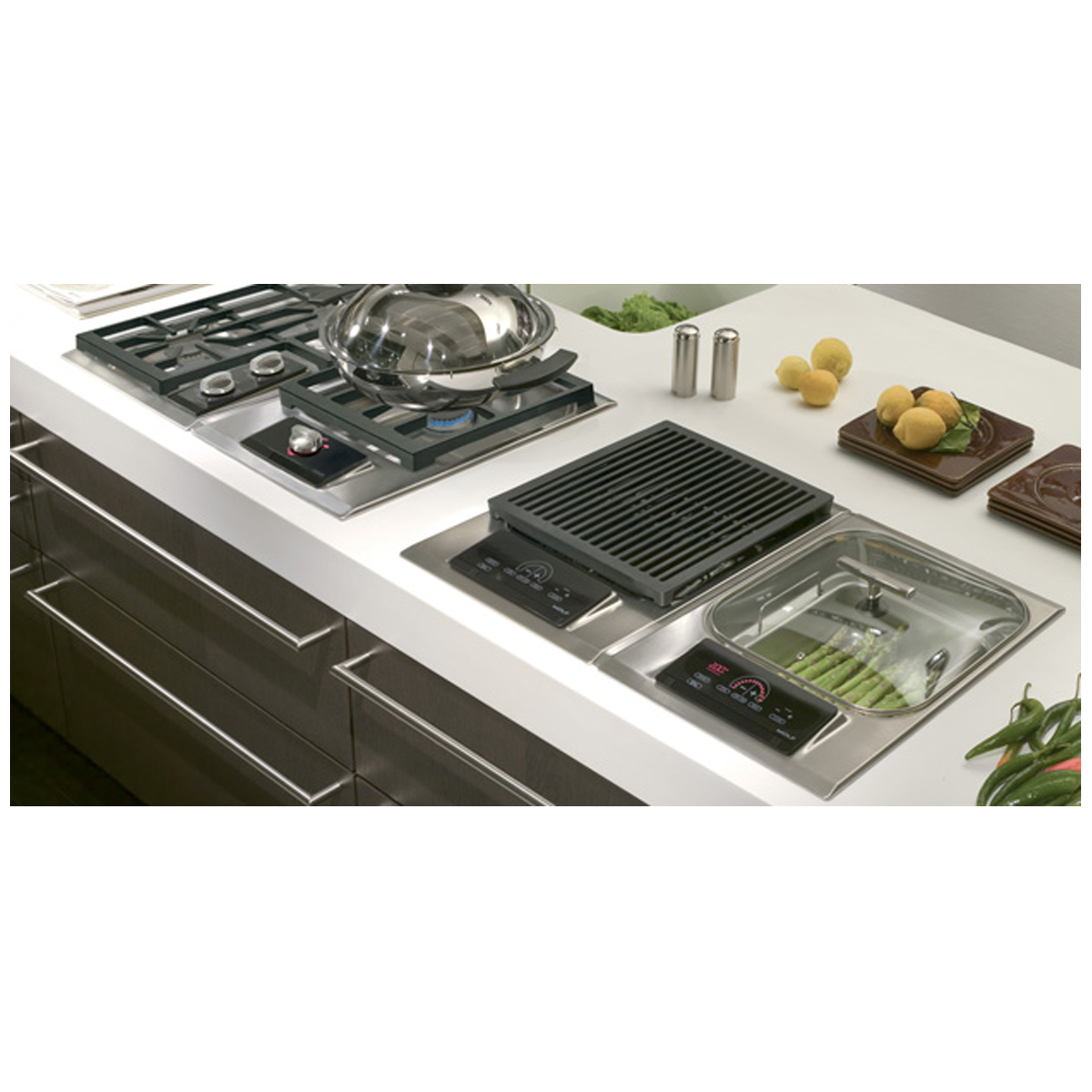 Wolf ICBIG15S 381 Electric Grill Cooktop