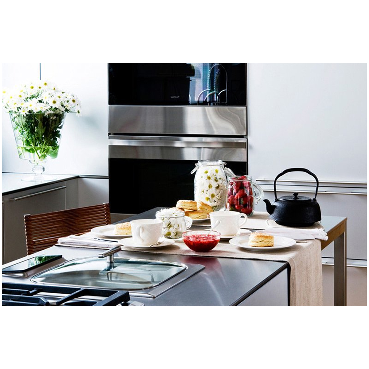 Wolf ICBIS15S Electric Steamer Cooktop 139355