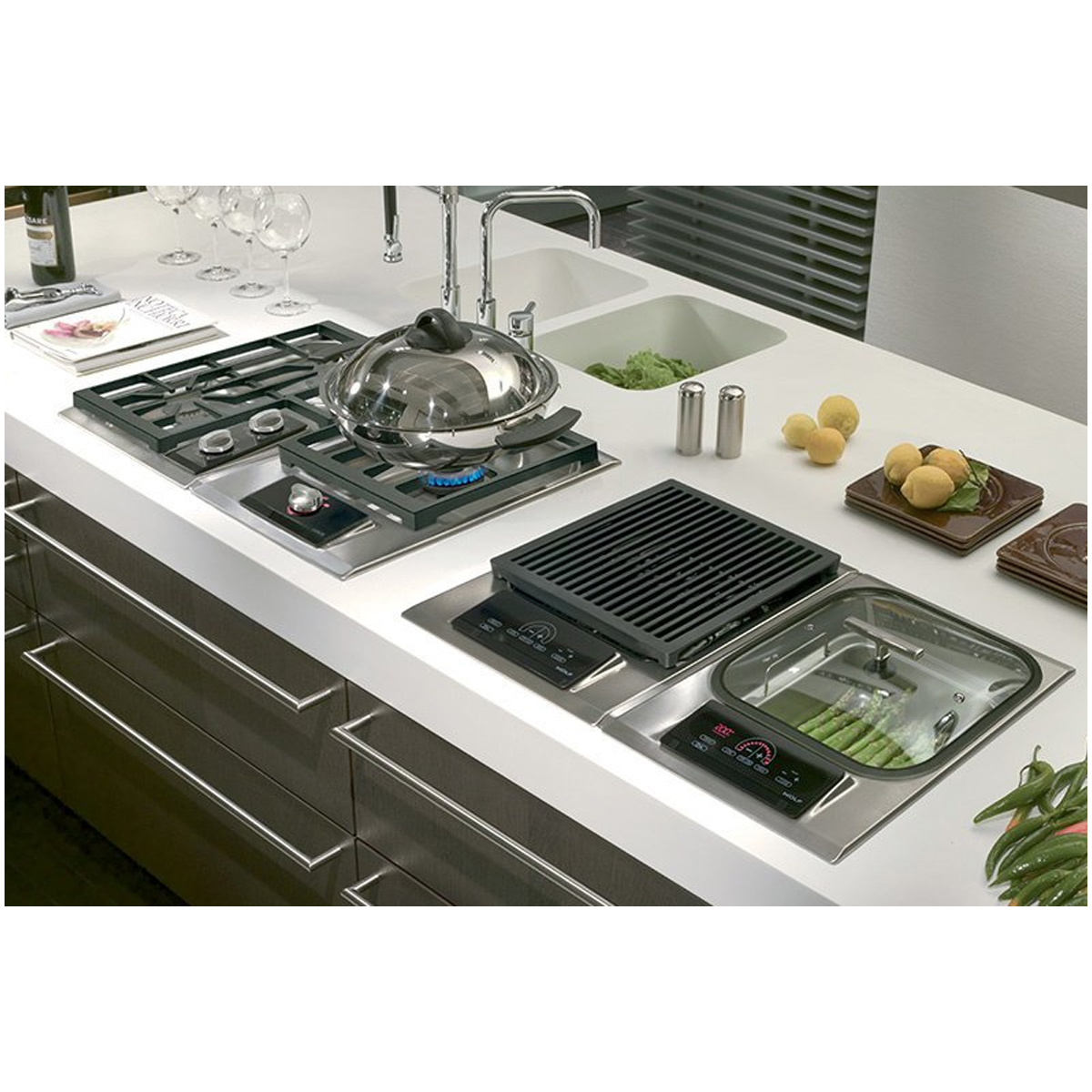 Wolf ICBIS15S Electric Steamer Cooktop 139356