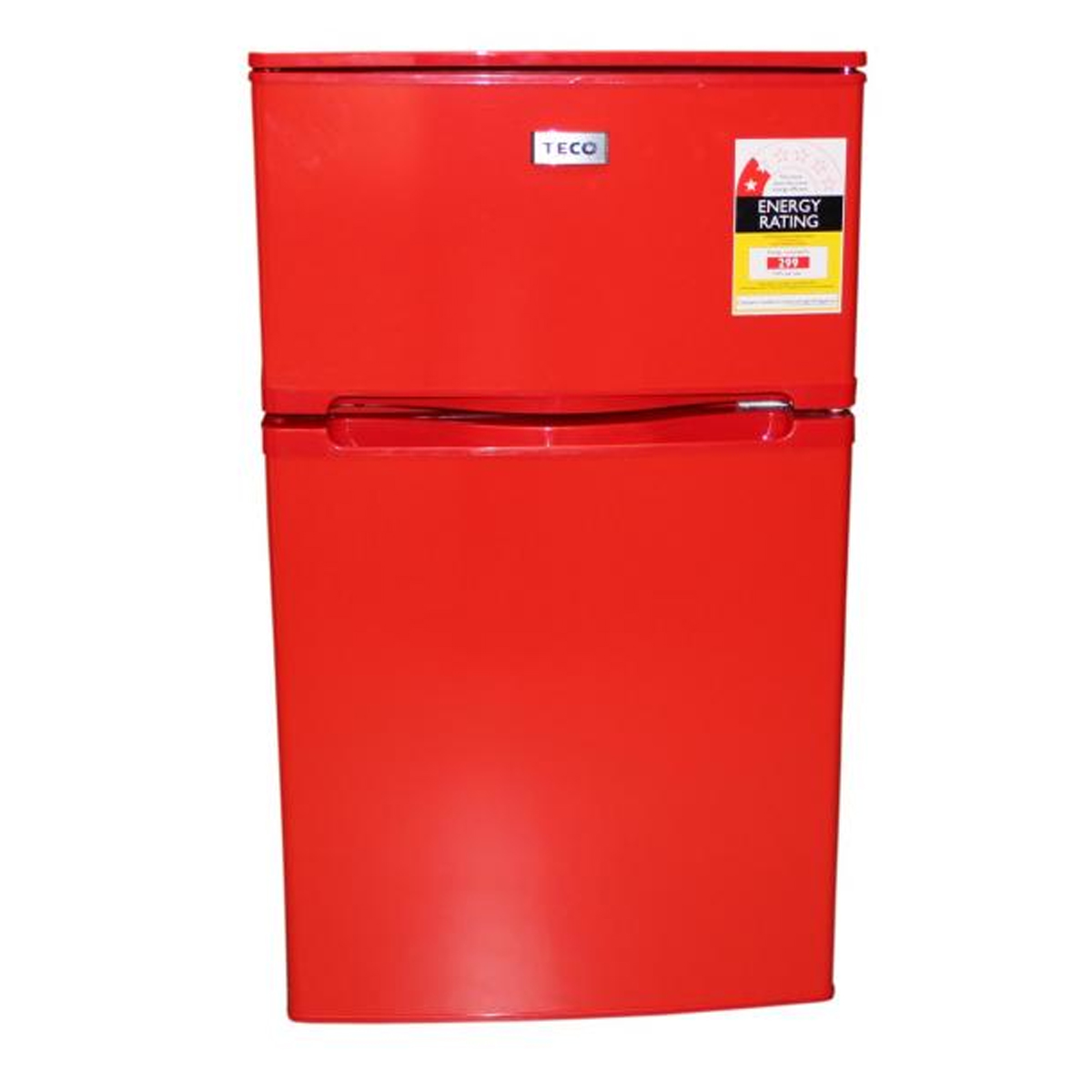 Teco TBF84RMTA 2 Door 84L Red Bar Fridge 133166