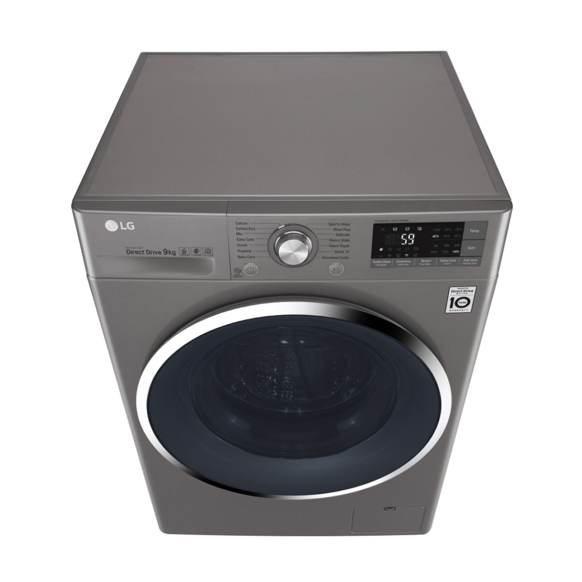 LG WD1409NCE Smart ThinQ™ 9kg Front Load Washing Machine 132321