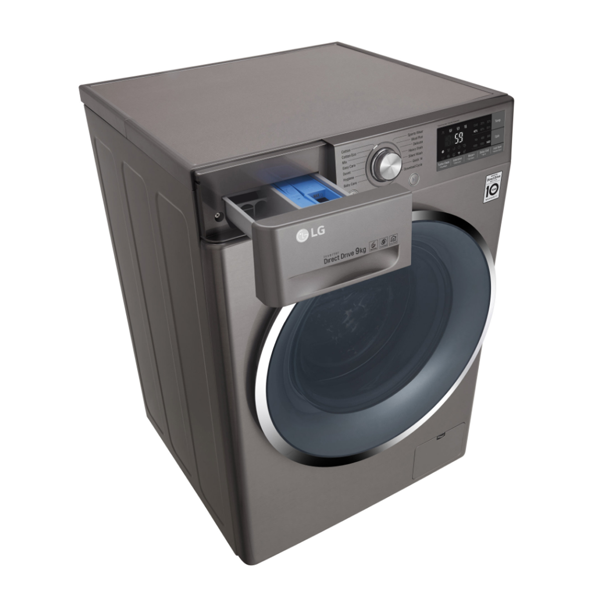 LG WD1409NCE Smart ThinQ™ 9kg Front Load Washing Machine 132323