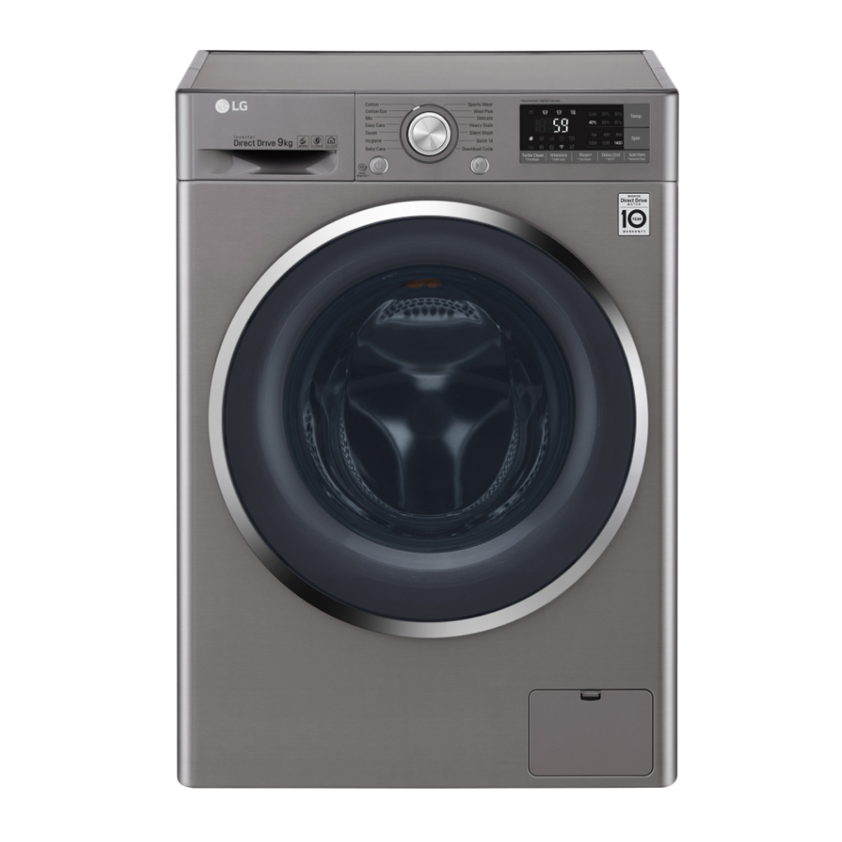 LG WD1409NCE Smart ThinQ™ 9kg Front Load Washing Machine 132313