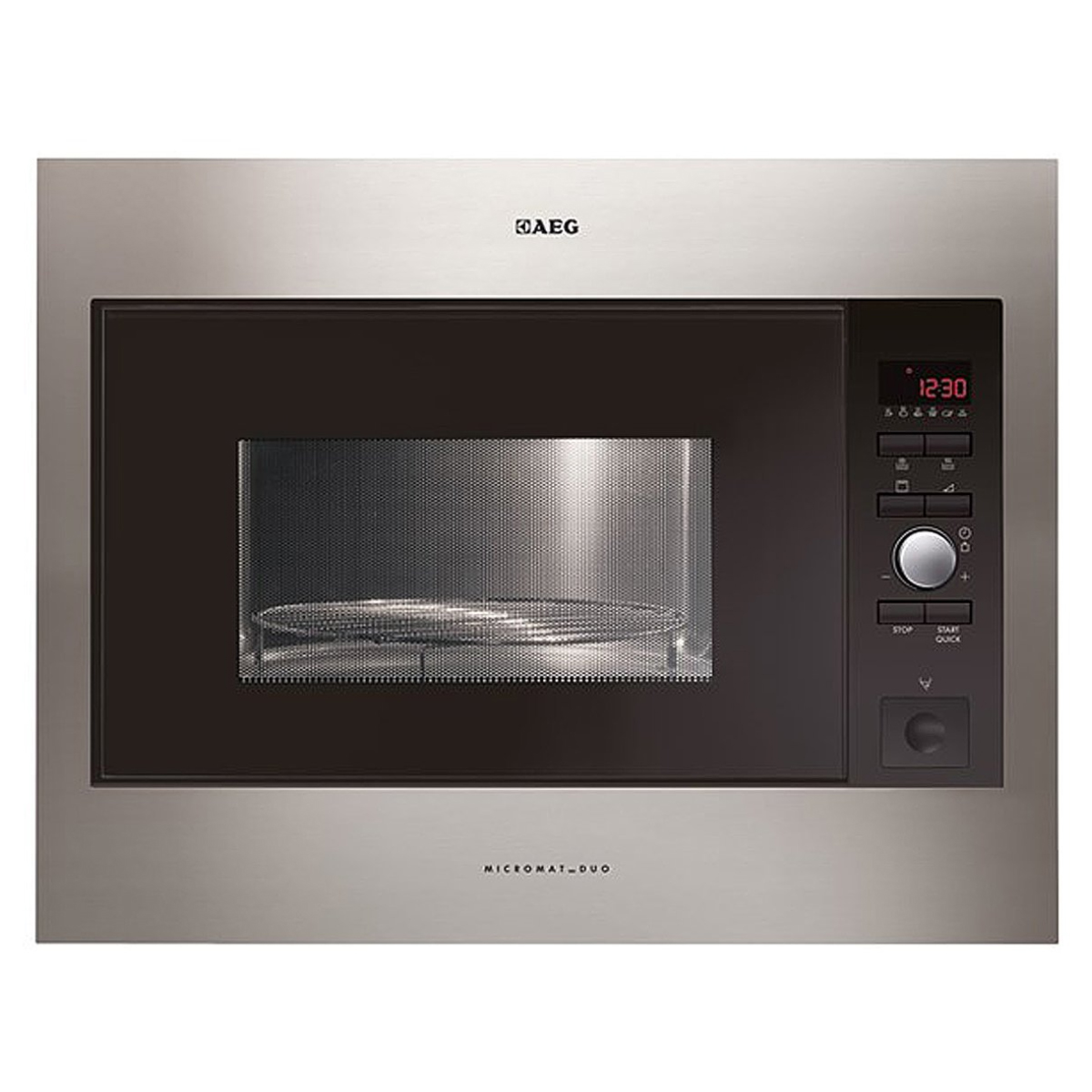 AEG MCD2664EM Built-In Microwave with Grill 900W 161141