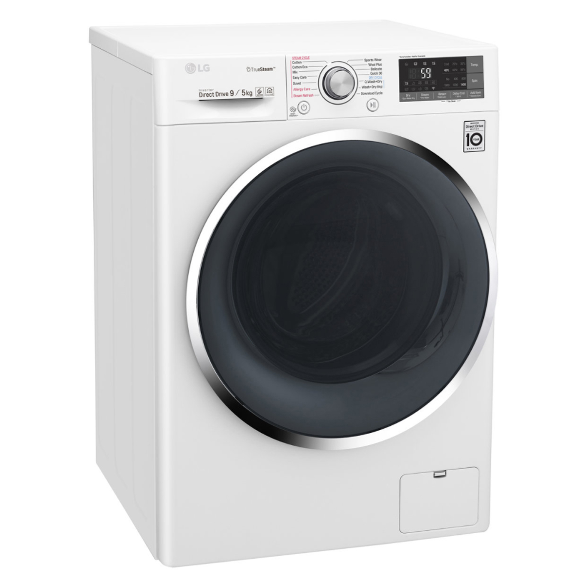 LG WDC1409HCW 9kg Washer 5kg Dryer Combo with True Steam® 168798