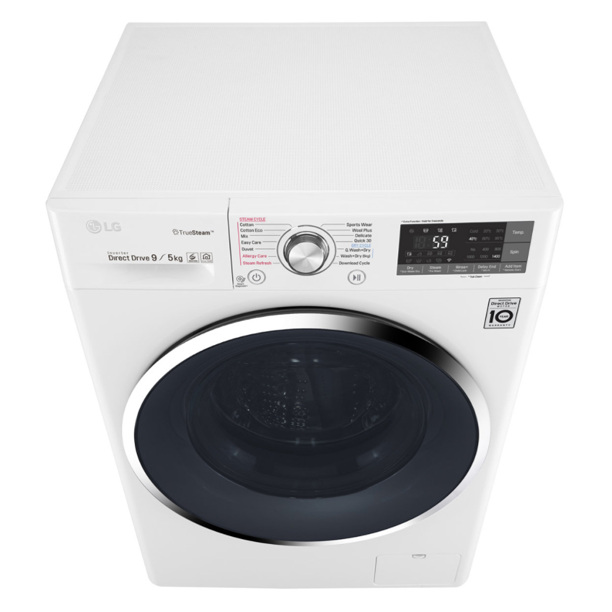 LG WDC1409HCW 9kg Washer 5kg Dryer Combo with True Steam® 168800