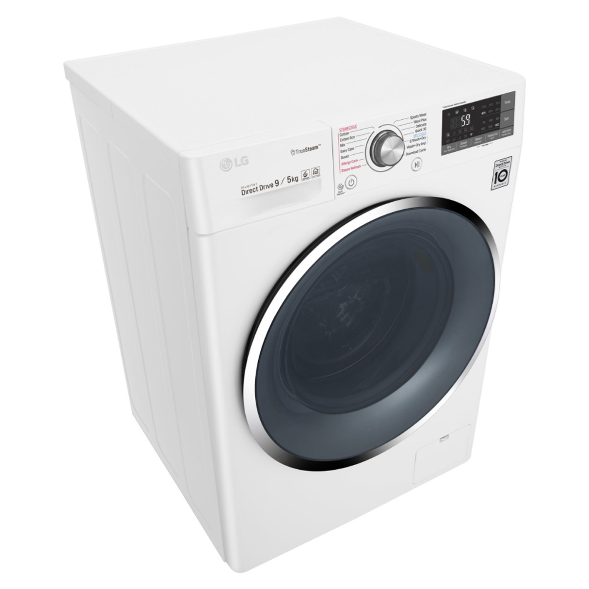 LG WDC1409HCW 9kg Washer 5kg Dryer Combo with True Steam® 168801