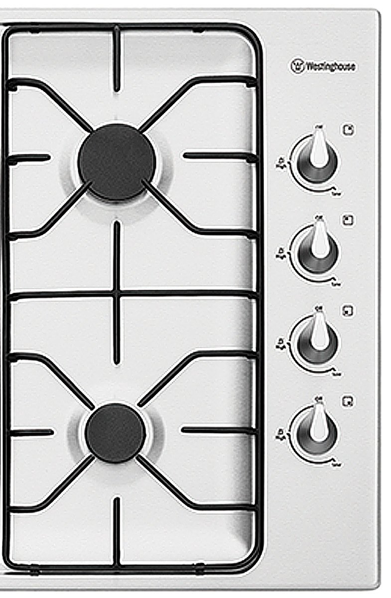 Westinghouse WHG640SB 60cm Natural Gas Cooktop 156783