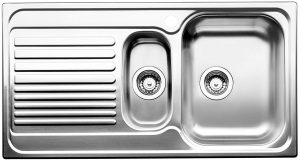 Blanco BTIPO6SLHD 1 and 1/4 Bowl Left Hand Drainer Sink 229341