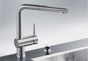 Blanco LINUSS Kitchen Mixer with Pull Out Tap 250736