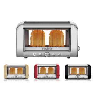 Magimix Vision Stainless Steel 2 Slice Toaster 7MM11526 252156