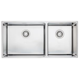 Barazza BFS50X34 Cubo Double Bowl Sink 255726