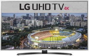 LG 43UH652T 43 Inch 109cm Smart 4K Ultra HD LED LCD TV 251986