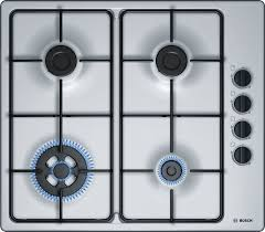 Bosch Stainless Steel 600mm Gas Cooktop PBH6B5B80A 258585