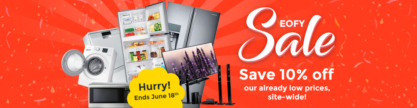 EOFY Sale - Save 10% off across our entire range. Hurry, ends tonight!