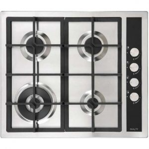 InAlto 60cm Stainless Steel Gas Cooktop ICGW60S 268995