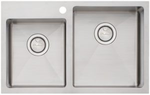 Oliveri AP1416 Apollo 1 and 3/4 Bowl Inset Sink 294775