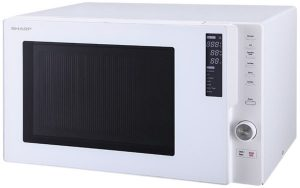 Sharp R820EW 900W Convection Microwave Oven 298134