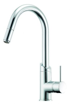 Methven 01-2329 Minimalist Sink Mixer With Pull Out Spray 325607