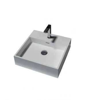 Bestlink SB2131 Square Counter Top Basin with Tap Landing 322857