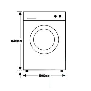 Euromaid WM7 7kg Front Load Washing Machine 403503