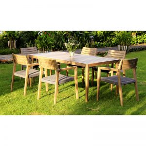 Arc Commercial Furniture MIKADO Alfresco Dining Set 434826
