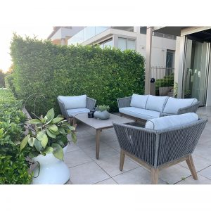 Arc Commercial Furniture SAMSO Alfresco Lounge Set 434676