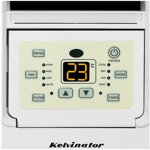 Kelvinator KWH62HRE 6kW Window Box Reverse Cycle Air Conditioner 462317