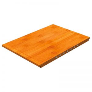 Abey 1TOF29 Bamboo Cutting Board With Magnets 506692