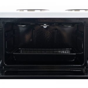 New World NWCOMPACT Benchtop Oven with Grill and Sealed Plate Hob 526395