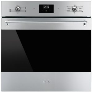 Smeg SFPA6300X 60cm Classic Aesthetic Pyrolytic Built-In Oven 526853