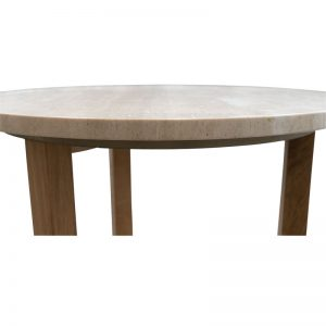 Arc Commercial Furniture SIDETRAV Travertine Side Table 559006