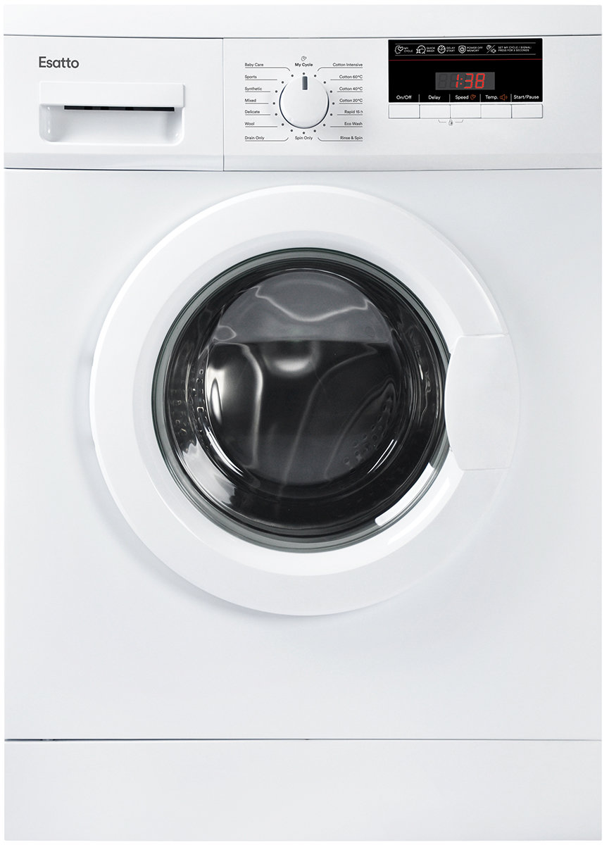 Esatto Eflw75 7 5kg Front Load Washing Machine Up To 60 Off